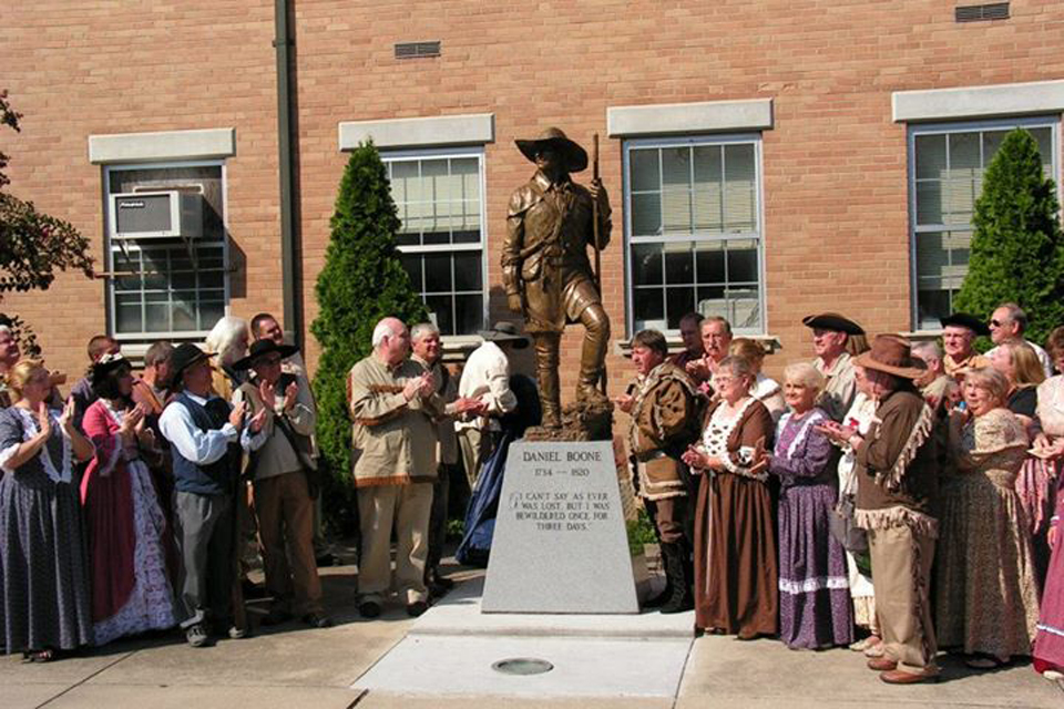 Daniel Boone Statue Dedication